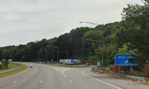 nj interstate 78 new jersey i78 rest area wayside mile marker 8 eastbound off ramp exit