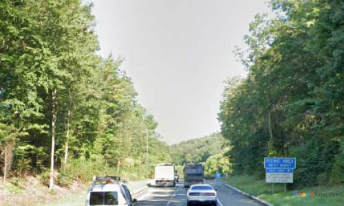 nj new jersey state route nj23 west milford wayside northbound