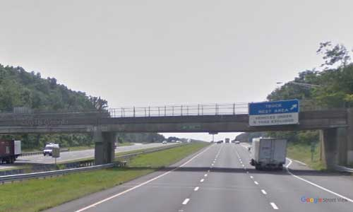 ny interstate 80 new jersey i80 wayside rest area mile marker 32 westbound off ramp exit